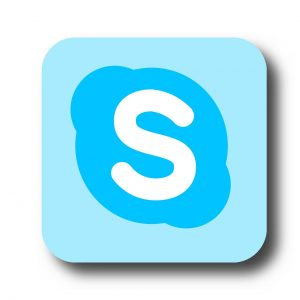 skype, communication, technology