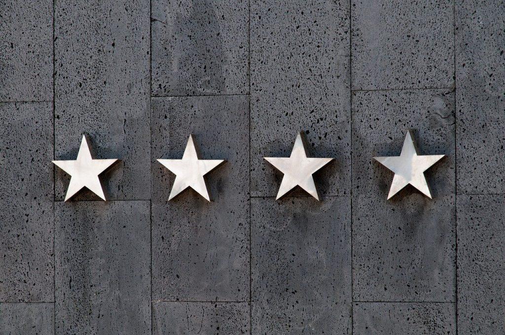 stars, rating, travel