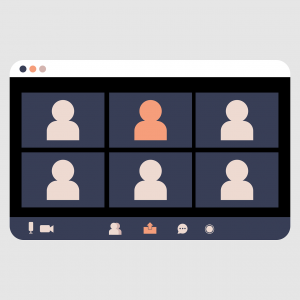 video conference, video call, webinar