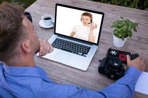 webinar, video, conference